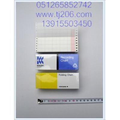 日本横河 记录仪耗材-记录纸,B9565AW,YOKOGAWA