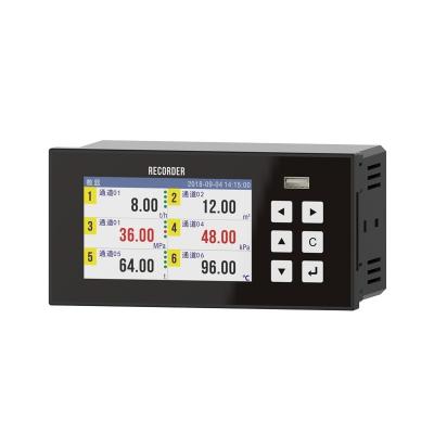 6通道液晶彩屏TPLR1000无纸记录仪